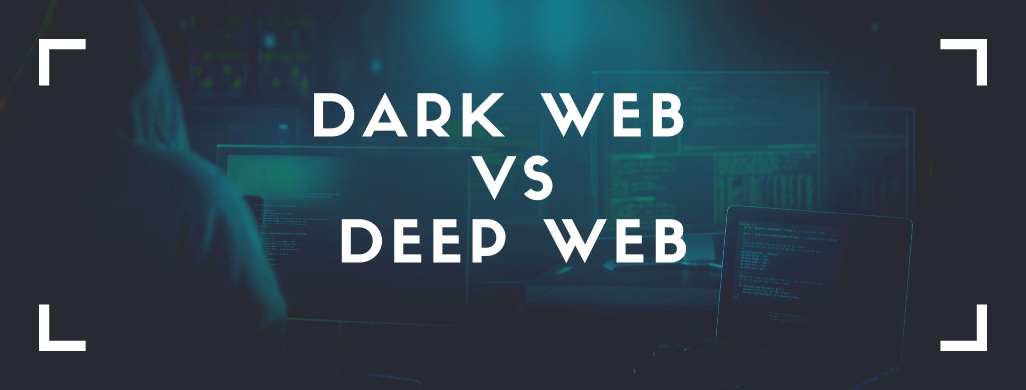 Deep Web vs Dark Web Links